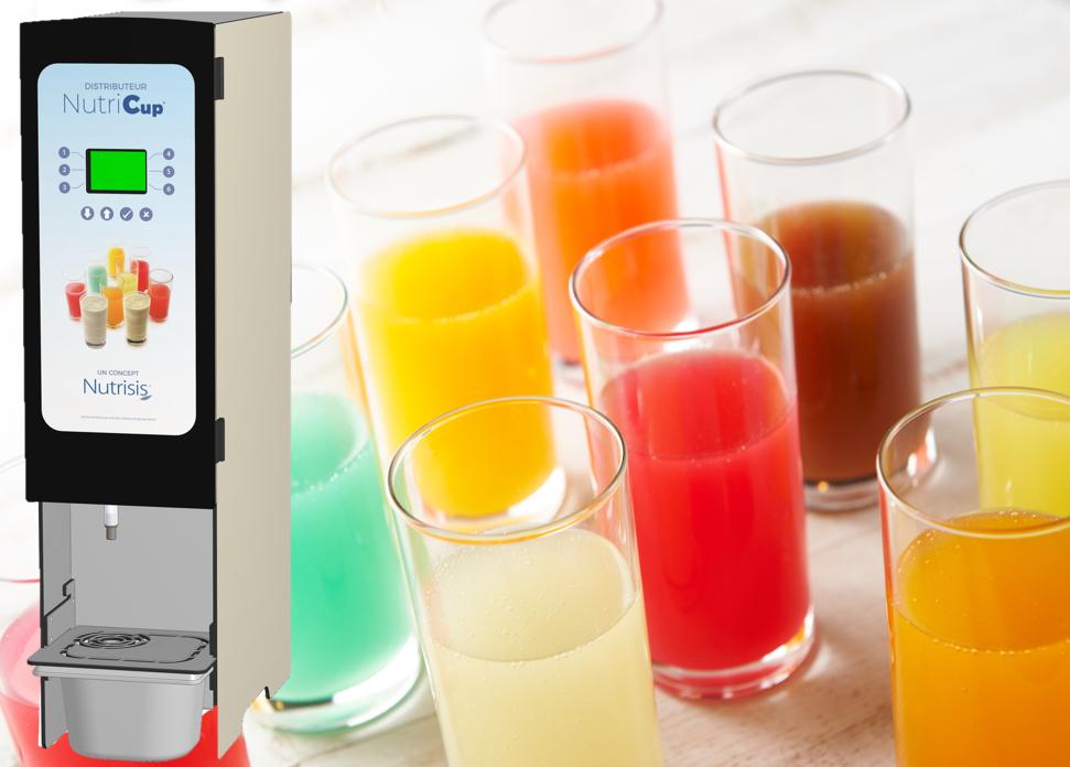 Eaux gélifiées en poudre pour Nutris6tem, le préparateur automatique d'eaux gélifiées